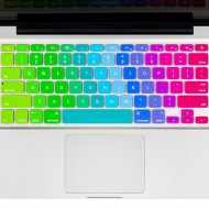 Kuzy Rainbow Silicone Skin Keyboard Cover for MacBook Buy Protective Accessory